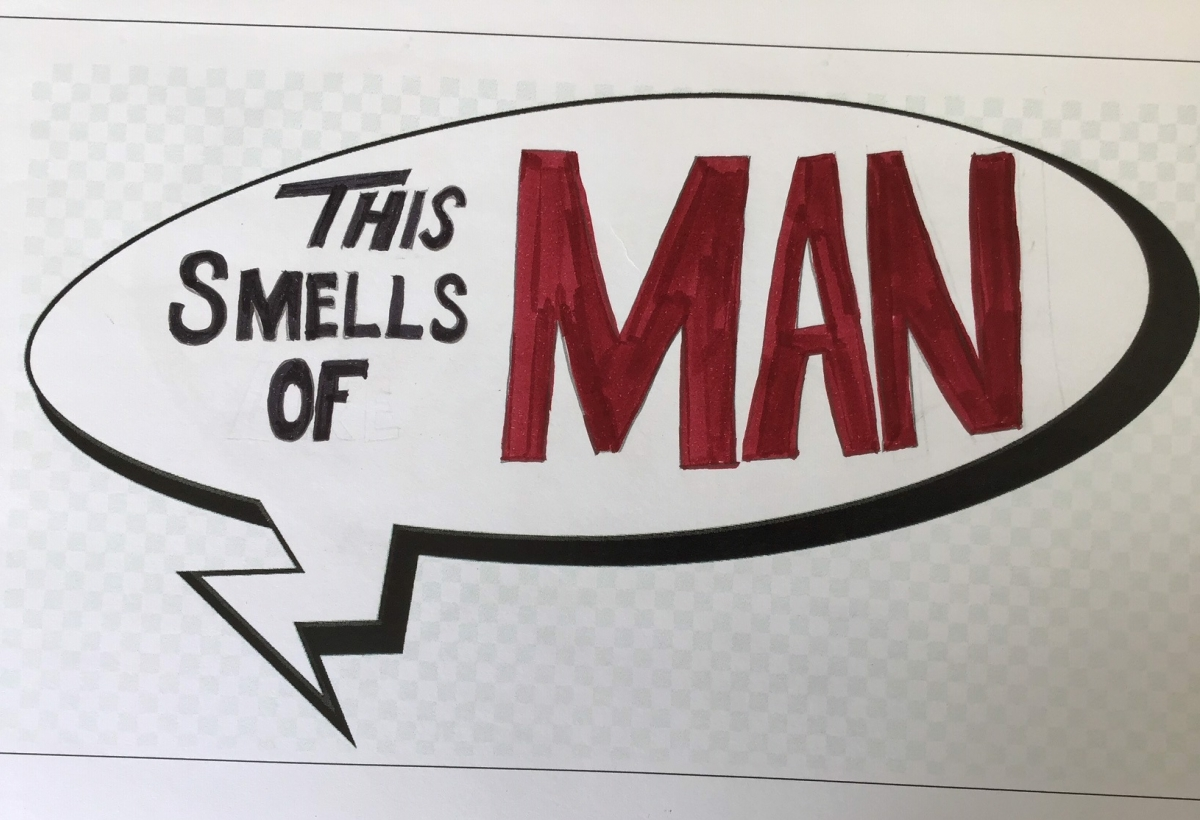 This Smells Of Man 1