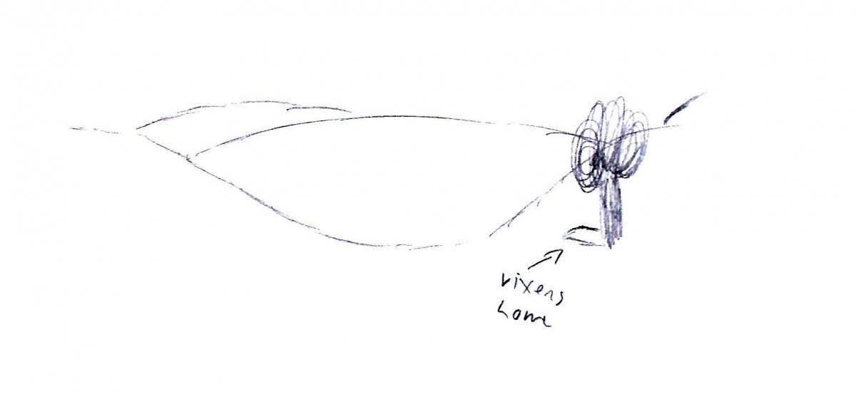 Landscape Pencil Minimal 1