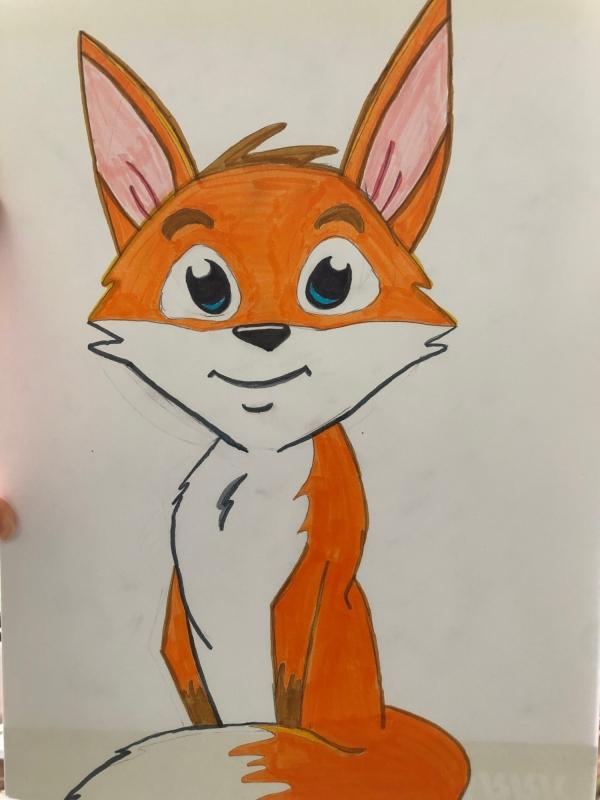 Fox Perky Japanese Style