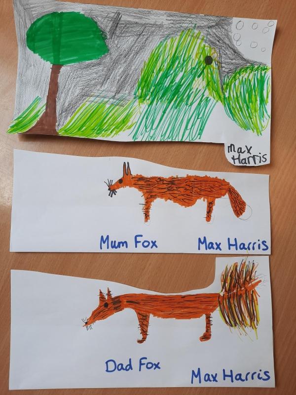 Landscape Fox Vixen 1
