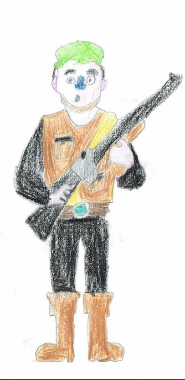 Poacher With Gun 1