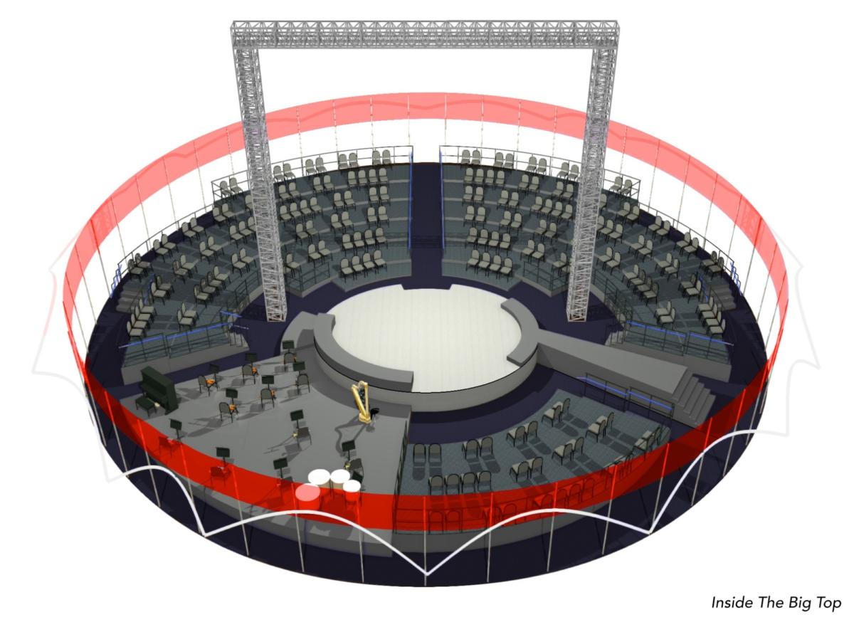 Big Top Interior
