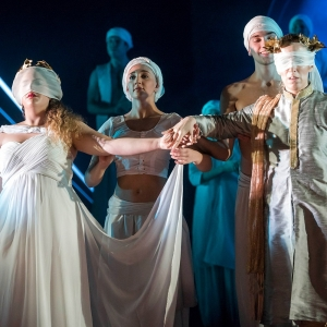Nazan Fikret Euridice Hanna Liisa Kirchin Orfeo Lfo Orfeo Ed Euridice 2017 Cr Matthew Williams Ellis 42 Credit: cr Matthew Williams-Ellis.